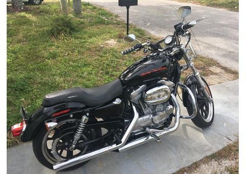 2014 Harley Davidson XL883L Sportster Superlow $7,000