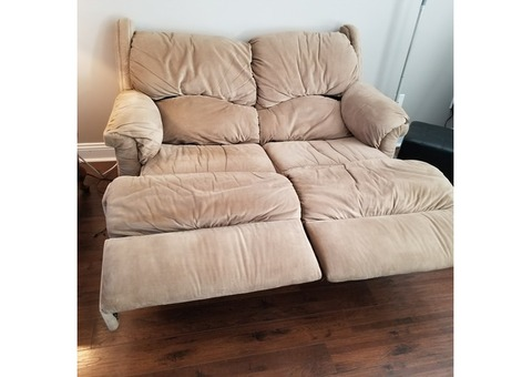 Laz-Boy Power Recliner Love Seat